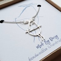 Personalised Child's Drawing Necklace