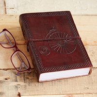 Penny Farthing Leather Journal