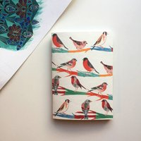 Notebook Finches A6