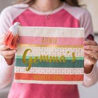 Personalised Set Of Three Cute Bags