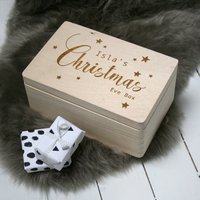 Personalised Large Traditional Christmas Eve Box