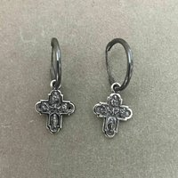 Tiny Cross Hoops