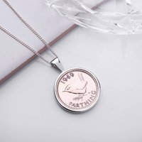 70th Birthday 1949 Farthing Coin Necklace