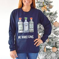 'We Three Gins' Unisex Christmas Jumper