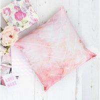 Bohemian Watercolour Pastel Chevron Pattern Cushion, Pink/Blue/Green