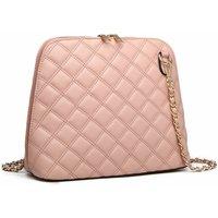 Dusky Pale Pink Cross Body Hand Bag