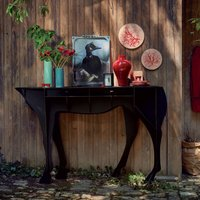 Pure Breed Coffee Table, Red/Black/Grey