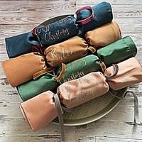 Personalised Fabric Reusable Christmas Crackers