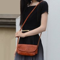 Leather Cross Body Mini Bag