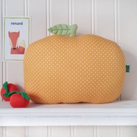 Clementine Shaped Nursery Cushion