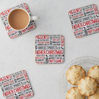 Festive Fun Coaster Set Of Four