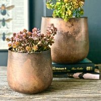 Pair Of Copper Richmond Planters