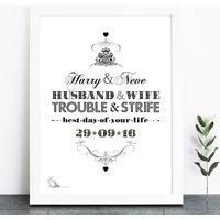 Husband And Wife Print