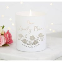 Mum Personalised Gift Candle