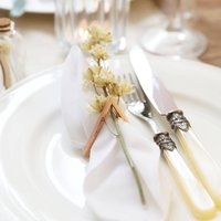 Set Of Two Personalised Napkin Rings
