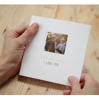 Anniversary Card With Removable Keepsake Photo