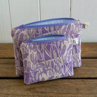 Small And Little Lavender Purses