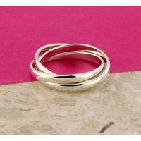 Natasha Silver 'Russian Wedding Ring', Silver