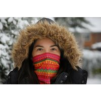 Varanasi Print Neck Warmer Snood