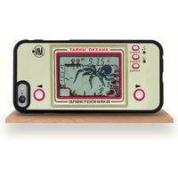 Vintage Handheld Game iPhone Case For All Models, Black/White