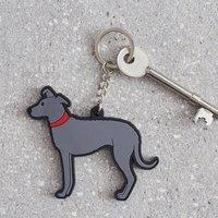 Lurcher Key Ring