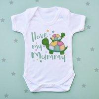 Mummy Tortoise Baby Vest