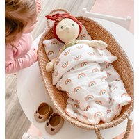 Dolls Rainbow Bedding Set