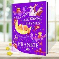 Nursery Rhymes And Personalised Lullabies Book