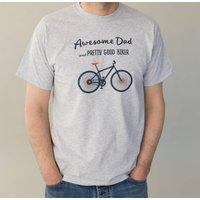 Awesome Dad Biker T Shirt