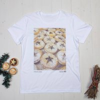 Mens Christmas Essentials Mince Pies Tshirt