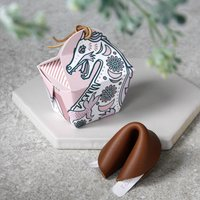 Leather Fortune Cookie Boxed Keepsake