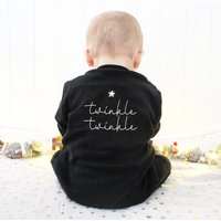 Twinkle Twinkle Baby Sleepsuit