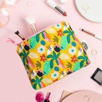 Jungle Patterned Makeup Bag