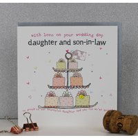 Daughter And Son In Law Wedding Day Card