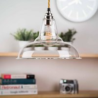 Clear Glass Coolicon Pendant Light