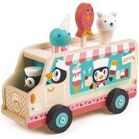 Personalised Wooden Ice Cream Gelato Van