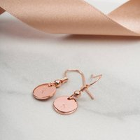 Personalised Letter Drop Earrings Gift For Her