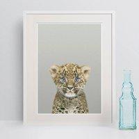 Leopard Cub Nursery Animal Prints