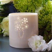 Porcelain Bouquet Tea Light
