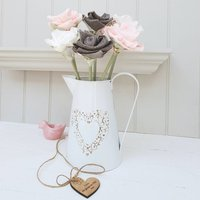 1st Wedding Anniversary Flowers In Jug With Tag