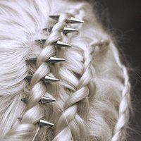 Hair Spikes In Silver Or Gold