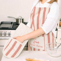 Head Baker Personalised Apron And Oven Mitt Set