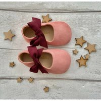 Rosa Suede Baby Shoes With Keepsake Box