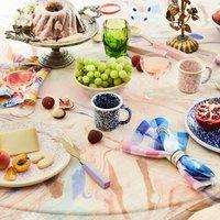 Colourful Linen Napkin Set