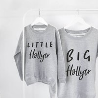 Little And Big Family Clothing Set
