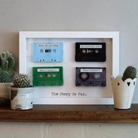 Personalised Framed 3D Mix Tapes