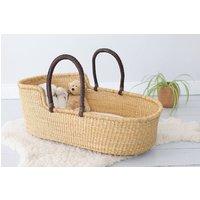 Didi: Natural Woven Moses Basket