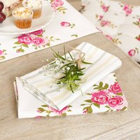 Luxury Rose Vintage Country Style Napkins