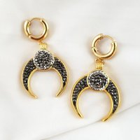 Luxe Statement Pave Earrings