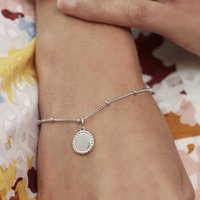 Personalised Friendship Bracelet Silver Or Gold, Silver